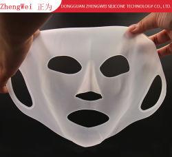 2021 nieuwe mode Vrouwelijk herbruikbaar waterbestendig siliconen schoonheid gezichtsmasker Absorptie die het Silicone Mask bevordert