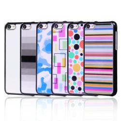 Caixa plástica de cor transparente para iPhone se/5s/5G