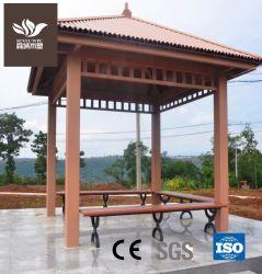 Het houten Plastic Samengestelde Paviljoen van het Park WPC