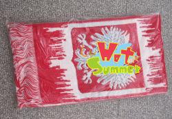 100% хлопок или акриловые футбола шарфа футбольные шарфы индивидуальные приемлемого