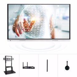 T6c65c tablette Android de nidification 4K LCD TV numérique interactive panneau intelligente 65 Smart multimédia Tableau blanc Tableau blanc l'écran tactile