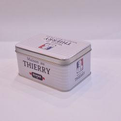 직사각형 선물 주석 감미로운 사탕 보석 포장 상자