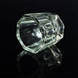 Nail Art Plate アクリル液体コンテナゲル用卸売ガラス ポーランドの再生の除去のボールの水晶釘のコップ
