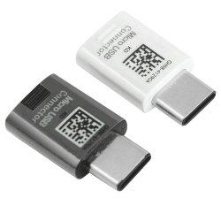 موصل USB ميكرو الأصلي إلى النوع C لـ Samsung من النوع C شاحن سريع لمحول الكبل لـ Samsung Galaxy S8/S9 S8 Plus C7 C9 PRO