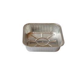 공장 도매 음식 급료 알루미늄 호일 음식 콘테이너 처분할 수 있는 포일 접시 빵집 쟁반