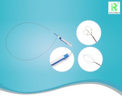 Cable de nitinol Cesta de la recuperación de la piedra Suministros desechables para cálculos renales