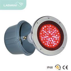 Acero inoxidable de alta calidad impermeable LED Luz subacuática la lente de cristal templado Increasea transparencia