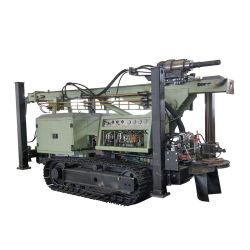 ماكينة حفر الآبار ذات حفر الصخور الهيدروليكية بماء الديزل مع رفع قدرة المحرك القوي