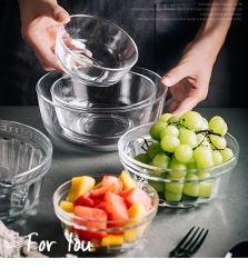 Bol en verre clair de Fruits & Food bol en verre