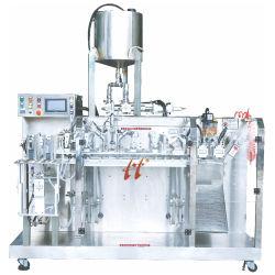 자동적인 액체 또는 드레싱 또는 잼 채우고는 및 포장 기계장치를 채우는 두 배 헤드