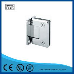 Bonne qualité de la quincaillerie de porte de douche en acier inoxydable de charnière de porte en verre