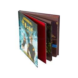 Livro de ilustrações de alta qualidade de impressão de capa dura personalizada