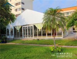 Largement l'application mur de verre un abri temporaire Pavilion tente pour 20mx40m
