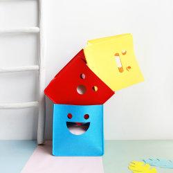 子供のおもちゃマガジンのための寝室によって感じられるFoldable赤ん坊の戸棚のオルガナイザーの記憶のバスケットは衣服を予約する