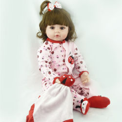 19 pulgadas de 48 cm silicona realistas hechas a mano Kits de Bebe Reborn Real Muñecas para niños