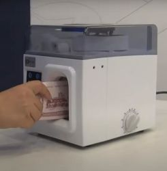 銀行券用紙ベースのとじしろは 30mm ワイドストラップ用紙バンドです