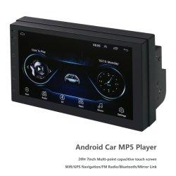 Android Market 2DIN 7 pol. Aluguer de MP5, Leitor de Multimédia Rádio com vídeo estéreo Sistema Áudio