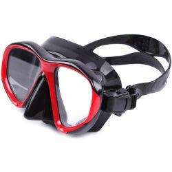 نظارات واقية من السيليكون ناعمة ملائمة مضادة للتسرب للحماية من الغوص قناع الغطس