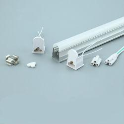 T5 интегрированный компонент фонаря освещения трубы корпус из алюминия или приспособление для прозрачных очистить крышку ПК диффузии с торцевой крышки для светодиодного освещения