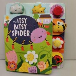 Livre de carte son Doll pour enfants tirez et appuyez sur Touch et Cadeau de jeu impression de livres de jeu