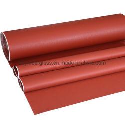 Resistencia química de rollo de tela de fibra de vidrio impregnadas de silicona