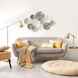 Arredamento Casa colorato goffrato metallo Art Design Wall