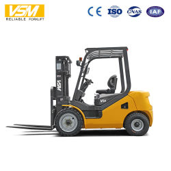 Vsm 1.5ton 2ton 2.5ton 3ton 3.5ton 디젤 엔진 3m, 4.5m, 5m 의 6m 고도를 가진 디젤 엔진 지게차