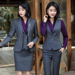 方法服装の衣類の女性服スーツの格子縞様式