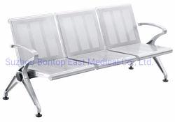 Châssis d'aluminium métallique en acier de l'aéroport de plein air l'hôpital public de l'École de conférence Salle d'attente accompagner Président banc avec prix d'usine