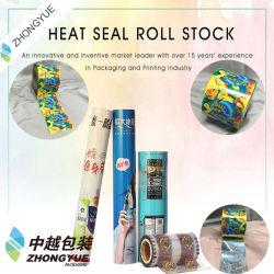 いろいろな種類のアイスキャンデーのラッパーの熱のプラスチックロールフィルムを包むSealable棒キャンディ