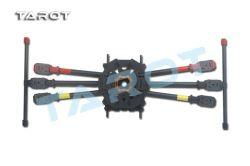 착륙 장치를 가진 Tarot 810sport 6 축선 탄소 섬유 Fpv Hexacopter 프레임 장비