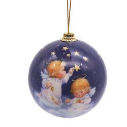 بالجملة صناعة عيد ميلاد المسيح زخرفة بلاستيكيّة عيد ميلاد المسيح كرة