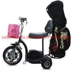 2020 carrelli di golf elettrici delle rotelle del motorino tre di nuovo disegno che piegano il motorino di mobilità E per l'adulto