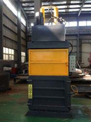 금속/종이/판지/플라스틱/병/타이어/의류를 위한 반자동 산업용 폐기물 유압 발러