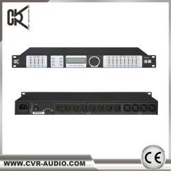 Sistema de som DJ profissionais processador de áudio