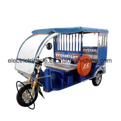 バングラデシュインド様式のタクシーのための電気乗客の三輪車