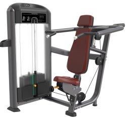 Profissionais de Imprensa do ombro corpo inicial interior comercial forte peso livre exercício de vários equipamentos de Ginástica Fitness