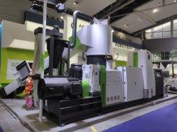 500 van het Katoenen van de Parel van kg/u EPE de Korrelende Machine van het Recycling Schuim van de Verpakking met de Pelletiseermachine van de Snijder van de Ring van het Water