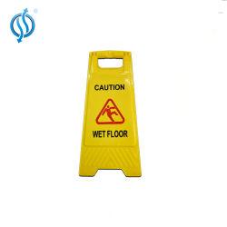600 * 300mm Reversible 2-seitige Bodenschild PP Falte Vorsicht Board A-Rahmen Warnschild