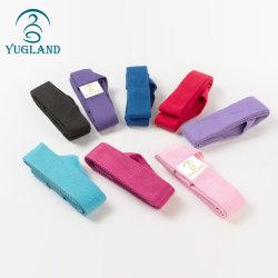 Yugland Multi-Color Algodão cinta de ioga esticar a correia com o anel D Customized