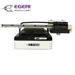 Egeriシリンダー目的紫外線プリンターラベルの印字機のギフトの木製の布の革紫外線平面プリンターマグのびんプリンターMu6090 0.6m * 0.9m Singboardのインクジェットプリント