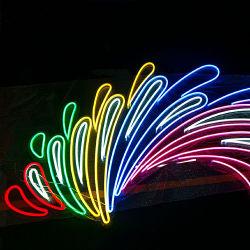 Signo de neón personalizado Color múltiple iluminación LED para la decoración de exteriores