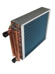 Horno Hydronic de aletas de aluminio de tubo de cobre el radiador para Canadá