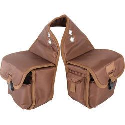 Custom confortável e leve à prova de cavalo de gado de armazenamento de equipamento de sacos de sela