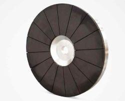Larga vida herramientas abrasivas Muelas de Diamante de bonos de metal para moler cerámica, vidrio