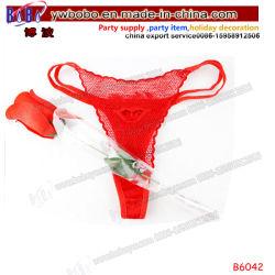 バレンタインのギフトの結婚祝いのセクシーなおもちゃの大人はもてあそぶ卸し売りPantyローズの人工花(B6042)を