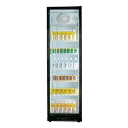Bebidas comerciales Shopping Mall Pantalla fría Exhibición de equipos frigoríficos