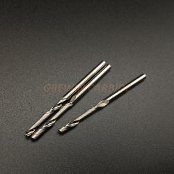 De grabado CNC Fresa 3,175 mm solo espiral de la Flauta de bits de corte