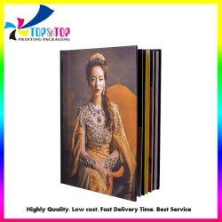 Catálogo de capa dura personalizada a impressão de livros de imagem