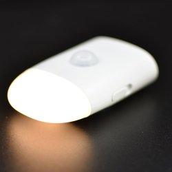 Luz LED Lámpara de inducción Inducción del cuerpo humano por la noche de inducción de la luz de lámpara con sensor de movimiento corporal recargable activa el ahorro de energía